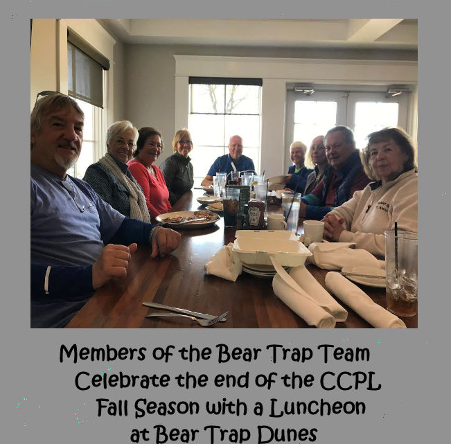 Bear Trap luncheon 10-24-18